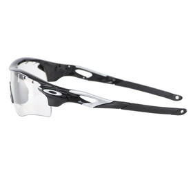 Oakley Radarlock Path pol. bk-silver/clear bk iridium photochromic
